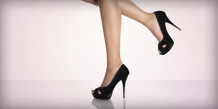 Hodanje na visokim petama za žene