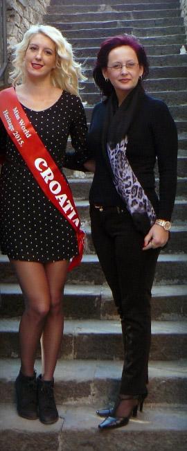 Isabelle Voschion Miss Heritage Hrvatske 2015