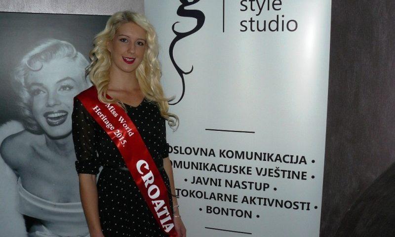 Puljanka Isabelle Voschion odlazi na izbor Miss Heritage 2015.